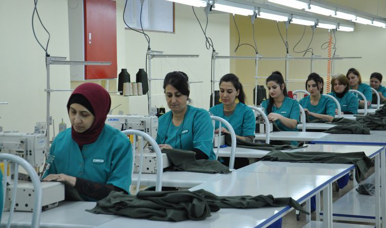 """""""Zumrud Geyim"""" LLC has expanded its production facilities."""