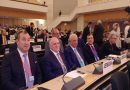 The 100th anniversary of the International Labor Organization was celebrated in Geneva, Switzerland.