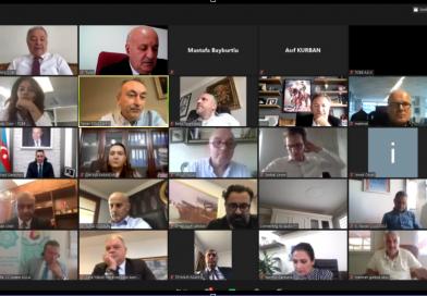 Состоялась встреча с участием Азербайджанских и Турецких предпринимателей.